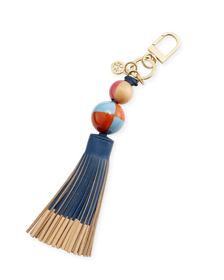 Tory Burch Dipped Tassel Key Fob/Bag Charm, Tidal
