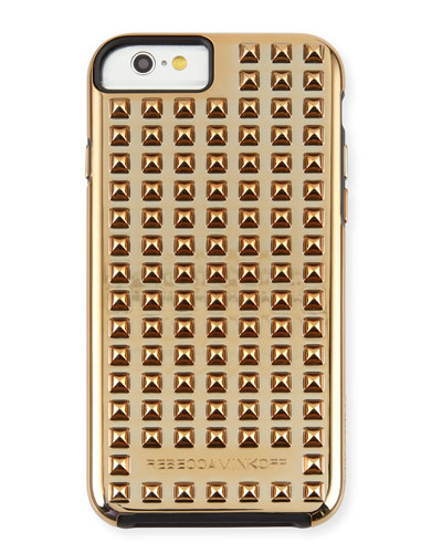 Studded iPhone 6 Tough Case, Gold