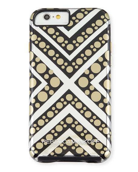 Rebecca Minkoff Metallic Print iPhone 6/6S Case
