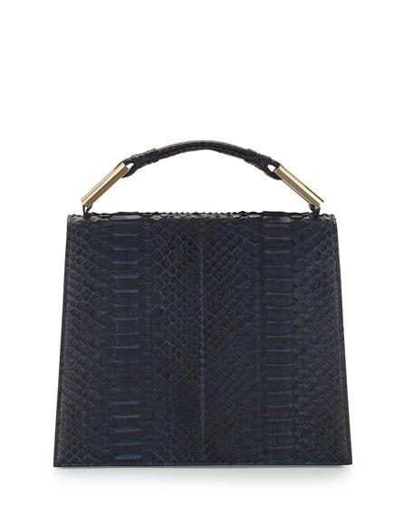 Jason Wu Charlotte Origami Python & Leather Handbag,