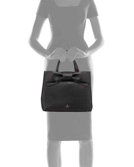 kate spade new york olive drive brigitte satchel bag, black