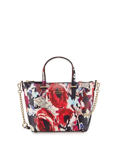 cedar street floral-print harmony crossbody bag, multicolor