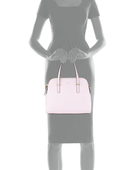 cedar street maise satchel bag, pink blush