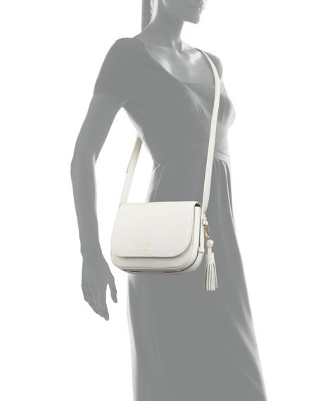 kate spade new york orchard street penelope crossbody bag, bright white