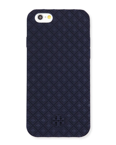 Marion Silicone iPhone 6 Case, Tory Navy