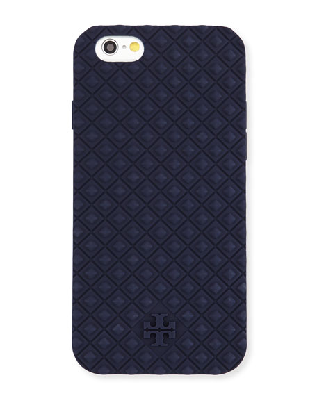 tory burch iphone case burch marion silicone iphone 6 navy 16280