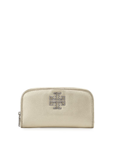 Britten Zip Continental Wallet, Light Gold