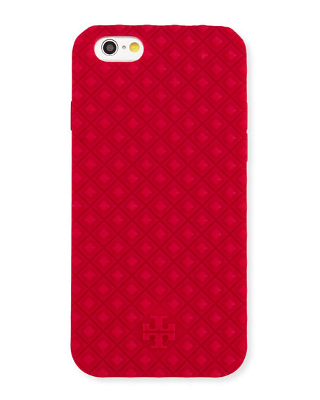 Marion Silicone iPhone 6 Case, Carnation Red