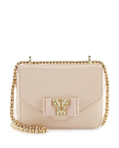 Kira Deco Chain Shoulder Bag, Light Oak