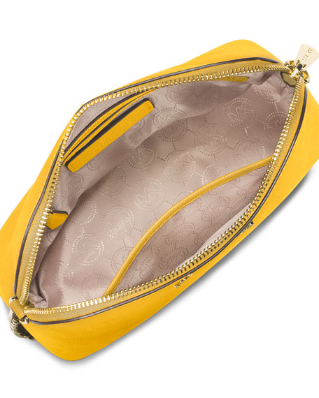 Cindy Large Dome Crossbody Bag, Sunflower