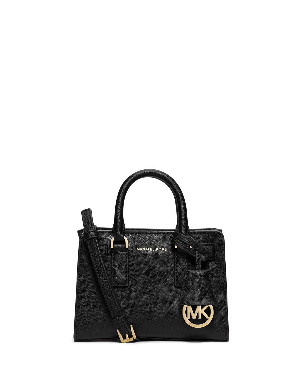 1ea228c1871faf MICHAEL Michael Kors Dillon XS Saffiano Crossbody Bag, Black ...