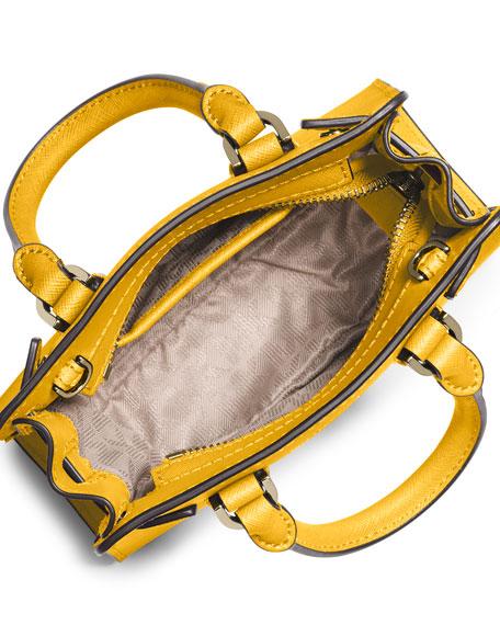 feb9f42120a8 MICHAEL Michael Kors Dillon XS Saffiano Crossbody Bag, Sunflower