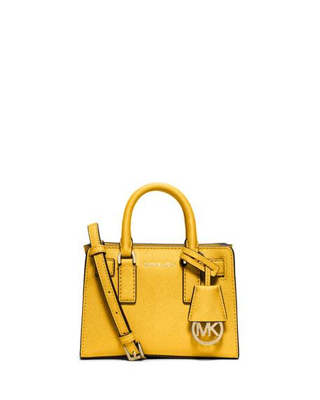MICHAEL Michael KorsDillon XS Saffiano Crossbody Bag, Sunflower
