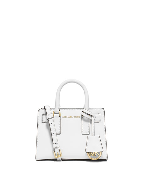 white michael kors crossbody bag