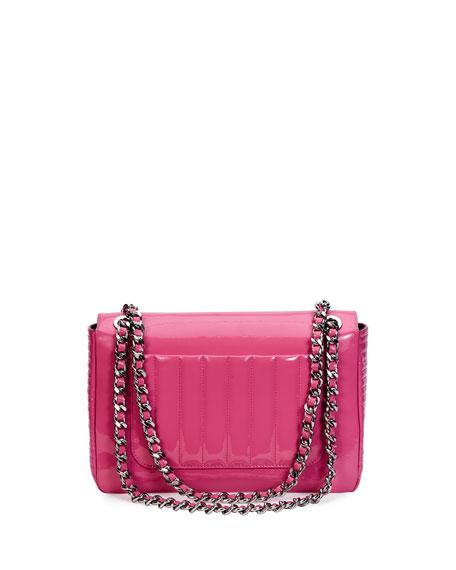 Tail Lights Quilted Shoulder Bag, Pink