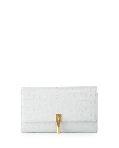 Elizabeth and James Cynnie Embossed Leather Wallet on