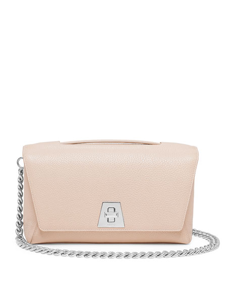 Akris Leather Chain-Strap Flap Bag, Cordage