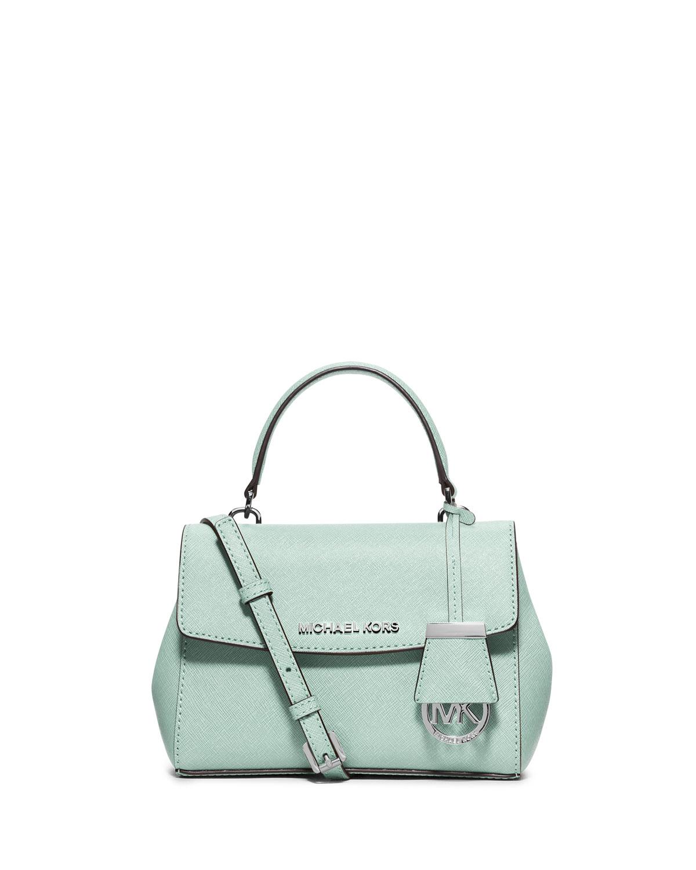 2841b1c9e56b MICHAEL Michael Kors Ava Extra-Small Crossbody Bag, Celadon | Neiman ...