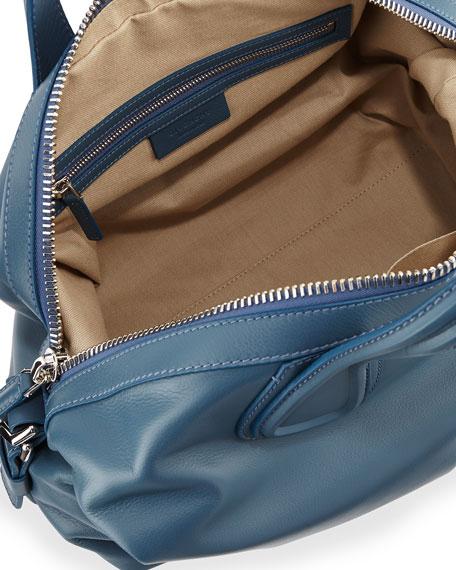 888b7edcbf02 givenchy medium nightingale bag in dark-brown leather