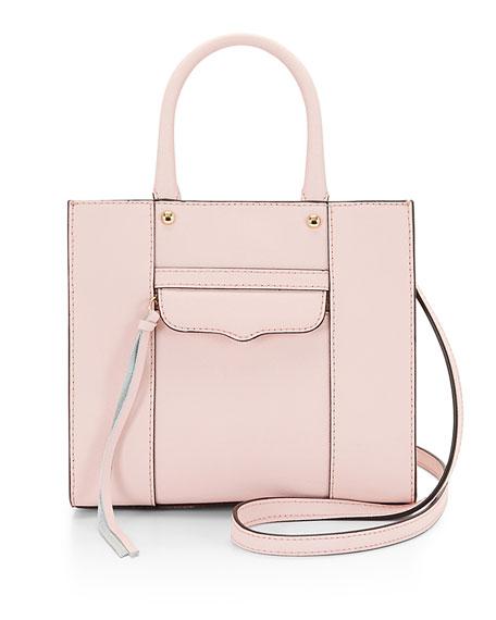 MAB Mini Tote Bag, Baby Pink