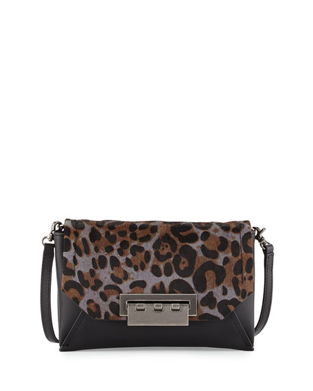 ZAC Zac Posen Eartha Envelope Crossbody Bag, Charcoal