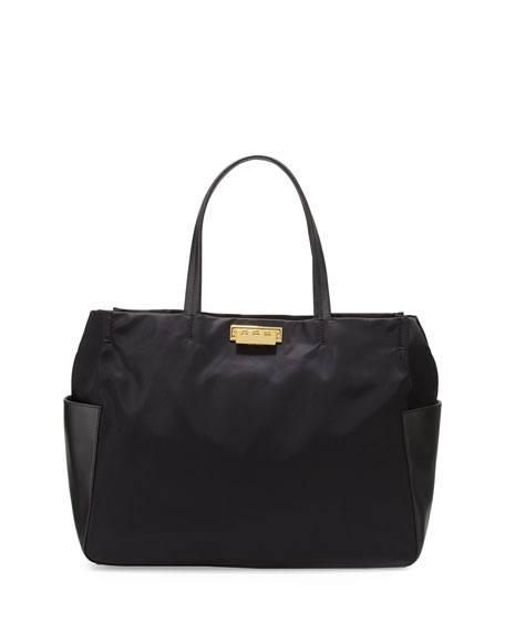 Eartha Everyday Large Shopper Tote Bag, Black
