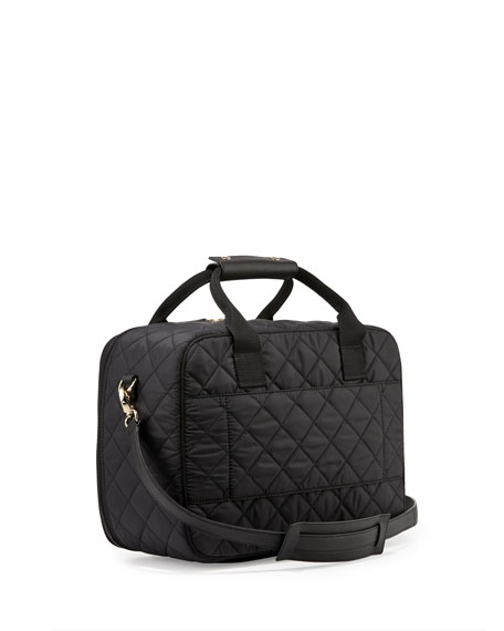 Kate Spade New York Ridge St Scottie Quilted Travel Tote Bag Black Neiman Marcus