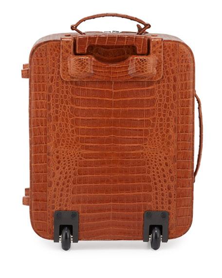 Crocodile Small Trolley/Roll Aboard Suitcase