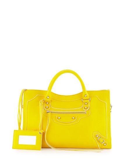 ysl gold watch - Saint Laurent Large Calfskin Fringe Shopping Tote Bag, Tan