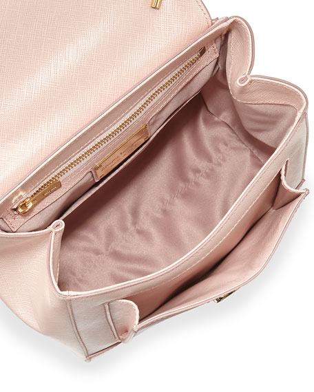 Carrie Vara Small Satchel Bag, Bonbon