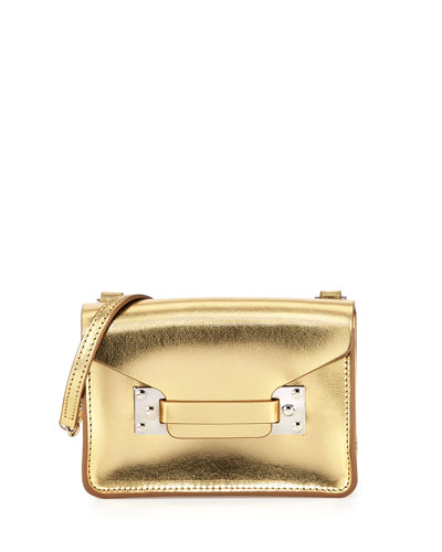 Milner Nano Crossbody Bag, Gold