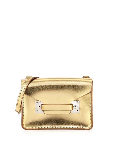 Milner Nano Crossbody Bag, Gold