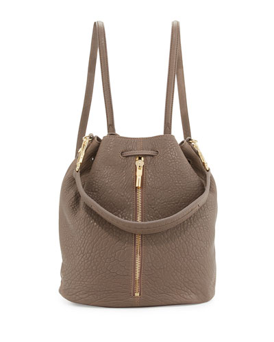 Cynnie Leather Sling Bag, Koala