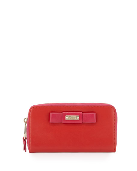 Badgley Mischka Collection Wendi Colorblock Leather Continental