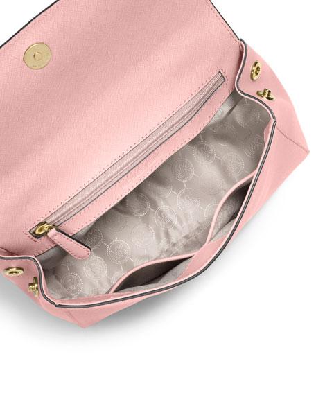 306122cab8f9 MICHAEL Michael Kors Ava Small Saffiano Leather Satchel Bag