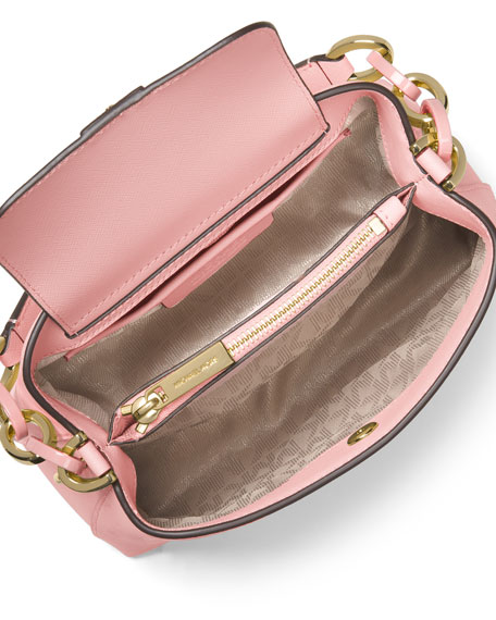 67fd6266f46c MICHAEL Michael Kors Portia Small Saffiano Shoulder Bag