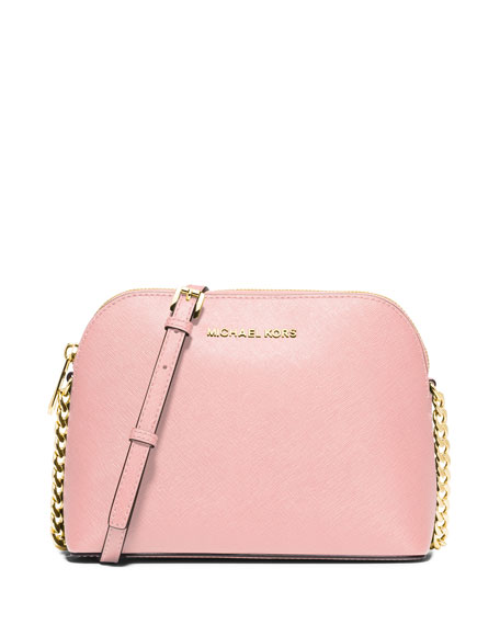 MICHAEL Michael Kors Cindy Large Dome Crossbody Bag, Blossom