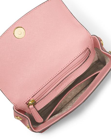 Ava XS Laser-Cut Crossbody Bag, Blossom/Ballet