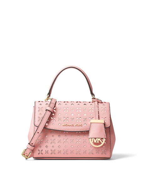 MICHAEL Michael Kors Ava XS Laser-Cut Crossbody Bag,
