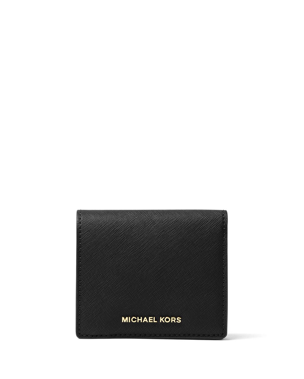 e79e893f4ead MICHAEL Michael Kors Jet Set Travel Saffiano Carryall Card Case ...