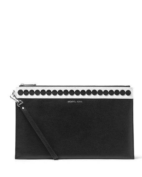 MICHAEL Michael Kors Analise XL Zip Clutch Bag,