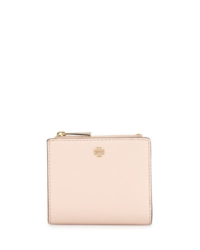 Robinson Leather Mini Wallet, Light Pink
