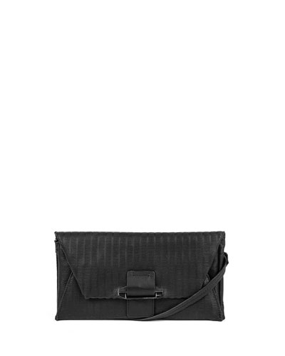 Ruby Convertible Leather Wallet, Black
