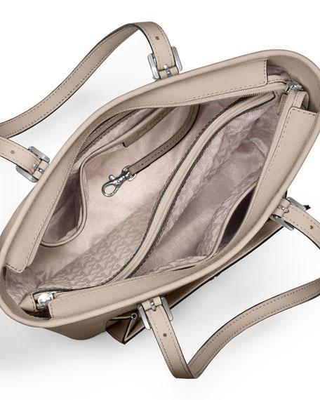 31083fd882c8 MICHAEL Michael Kors Jet Set Medium Snap-Pocket Tote Bag, Cement