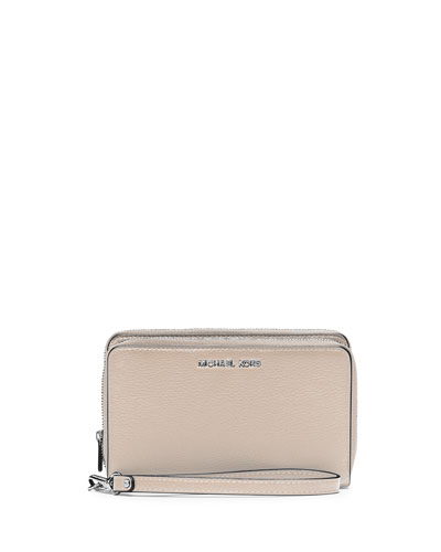 Adele Large Multifunction Phone Case/Wallet, Cement