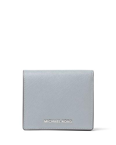 Jet Set Travel Carryall Card Case, Dusty Blue