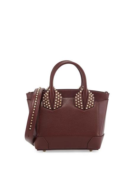 christian louboutin eloise small leather spike tote bag