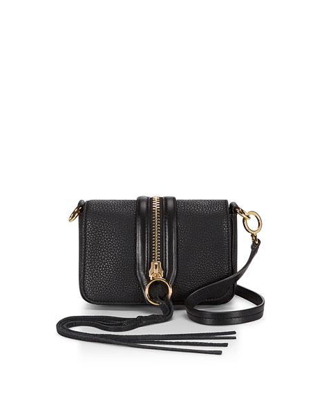 Mini Mara Crossbody Bag, Black