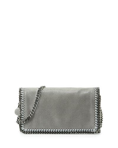Falabella Crossbody Bag, Light Gray