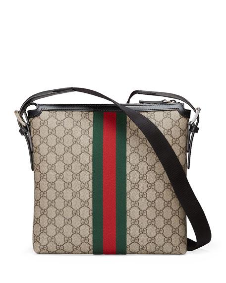 Web GG Supreme Messenger Bag, Beige/Multi